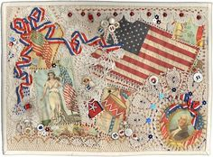 Quilt # 13,741 - God Bless America! from Alzheimers auction