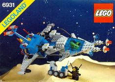 LEGO 6931 FX-Star Patroller instructions displayed page by page to help you build this amazing LEGO Space set Best Lego Sets Ever, Lego Vintage, Vintage Stuff, Modele Lego, Lego Space Sets, Big Lego, Lego Super Mario, Lego Videos, Free Lego