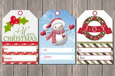 27 Free Holiday Printables