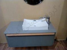 روشویی کابینتی چوبی و پی وی سی حمام و دستشویی مدل سیکاس B