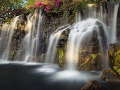 Reconnect with nature.  Photo of Wailea Falls by Elizabeth Carmel - Hawaii