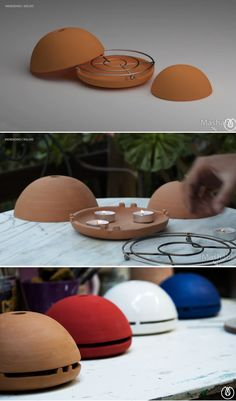 Turn a candle into a powerful heater with the egloo.