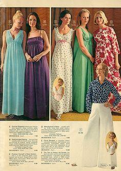 1973 Sears Christmas Catalog Sleepwear
