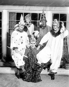 Clowns Gone Mad 8x10 Reprint of Old Photo | eBay