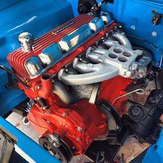 A B C D F A Ba Driftwood Hemi Engine