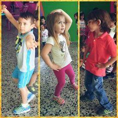 Tiempo de #baile, #música y muchísima #diversión. ¡Ellos la pasan genial en #ChamburciandoAndo! ¿Que tal estos pasos de baile de Maximiliano, Luciana y Juan?
