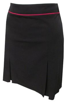 """Just released a Black Piccadilly Greg Norman Ladies 18"""" Pleat Golf Skort, one of the best sportswear featuring moisture wicking Lining with Microfiber comfort stretch & UPF50 material! #lorisgolfshoppe"""