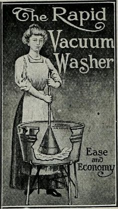 HOUSEHOLD APPLIANCE: Its a washbucket and plunger.