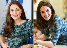 See Kate Middleton Pregnant with Charlotte and Baby No. 3 at Same Second-Trimester Point