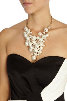 Womens ivory necklac from Coast - £49 at ClothingByColour.com