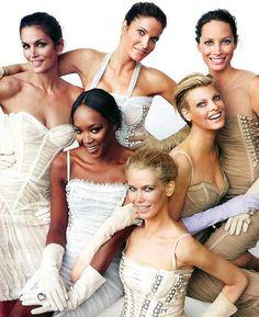 Cindy, Stephanie, Christy, Naomi, Linda & Claudia