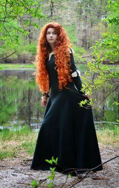 Disney Cosplay - Merida From Brave | eoghann.com