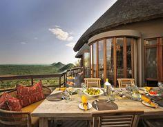 Meals at Ulusaba Game Reserve