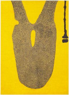 Hannu Väisänen: March Yellow 2008 180 x 130 cm Oil on canvas
