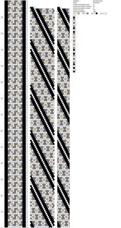 14 around bead crochet rope pattern