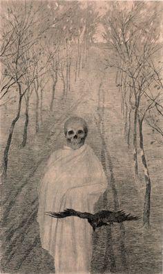 """Death in the Alley"" by Jaroslav Panuska (1900)"