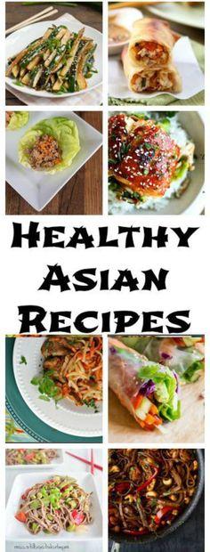 HEALTHY ASIAN RECIPES - food, healthy, recipes