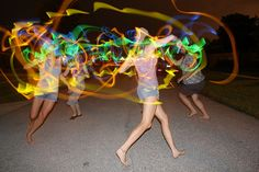 Glow Stick Night games