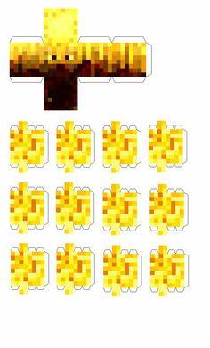 Minecraft Papercraft Slime | 394px