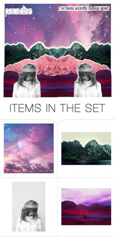 """.4 hi guys"" by desired-sleep ❤ liked on Polyvore featuring art"