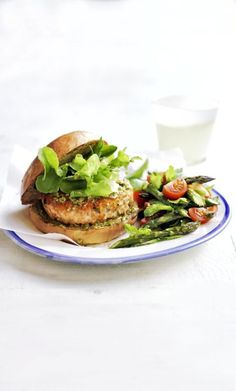 You can make this dish ahead of time! Form patties and freeze for up to 1 month. Cook from frozen at 425 degrees F until warm and cooked through, 15 to 20 minutes. Click through to discover more heart-healthy dinner recipes that are easy to make.