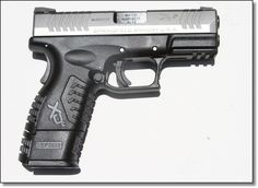 SPRINGFIELD XDM, 9mm w/3.8 barrel. This is a wonderful firearm! : ) Shes fun to shoot too!