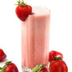 Fresh Strawberry Banana Sunrise Smoothie With Truvia® Natural Sweetener