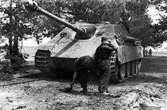 A Jagdpanther anti tank gun which was one of the best German anti tank vehicles…