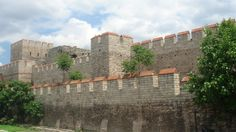 The Theodosian Walls are the fortifications of Constantinople, capital of the Byzantine Empire, which were first built during the reign of Theodosius II (408-450 CE). Sometimes known as the Theodosian Long Walls, they built upon and extended earlier fortifications so that the city became impregnable to enemy sieges for 800 years. The fortifications were the largest and strongest ever built in either the ancient or medieval worlds.