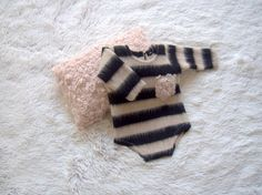 NEW-Newborn Posing Pillow and Long Sleeves Stripped by zoik
