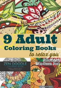 9 Adult Coloring Books to Relax You | eBay