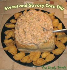 Sweet and Savory Corn Dip