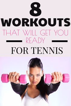 Tennis Workouts to Get You In Shape Are you looking to get in shape for playing tennis? These tennis workouts will help you gain strength and endurance. These exercises include both strength training and cardio. Fitness Workouts, Fitness Motivation, Cardio Workouts, Soccer Workouts, Women's Fitness, Sport Motivation, Tennis Lessons, Tennis Tips, Sport Tennis