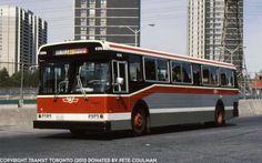 TTC Flyer D900 bus Toronto 1980s