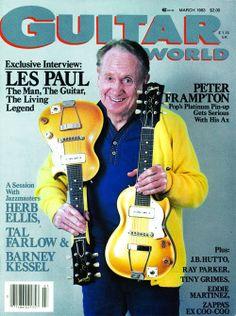 The man, the guitar, the legend....Les Paul  #LesPaul #Gibson #Gutiar #GuitarWorld