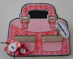 Paper Purse, Gift Bags, Diaper Bag, Stencils, Lunch Box, Satchel, Scrapbook, Purses, Cute
