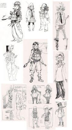 Sunny Gurlukovich Concepts, MGS4, Yoji Shinkawa