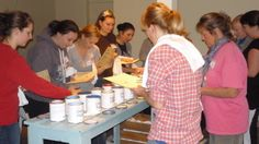 Our first ever Chalk Paint workshop 2011