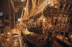 museo del Vasamuseet, en Estocolmo que acoge el histórico navío Vasa, hundido en el siglo XVII. / MACDUFF EVERTON