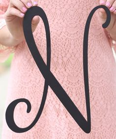 Love this Unfinished Wood Initial Wall Art on #zulily! #zulilyfinds