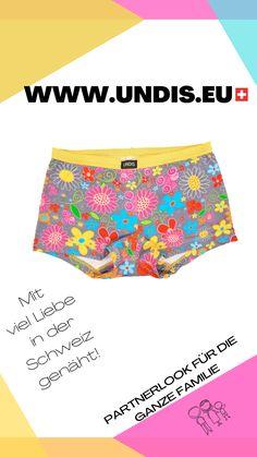 UNDIS www.undis.eu Die handgemachte Unterwäsche im Partnerlook für die ganze Familie. Lustige Motive und flippige Farben für Groß und Klein! #undis #bunte #Kinderboxershorts #Lustigeboxershorts #boxershorts #Frauenunterwäsche #Männerboxershorts #Männerunterwäsche #Herrenboxershorts #kids #bunteboxershorts #Unterwäsche #handgemacht #verschenken #familie #Partnerlook #mensfashion #lustige #vatertagsgeschenk #geschenksidee #eltern #diy Funny Underwear, Casual Shorts, Gym Shorts Womens, Fashion, Fashion Styles, Sew Gifts, Gifts For Women, Gift Ideas For Women, Men's Boxer Briefs