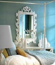 Lovely Colors With White and mirror