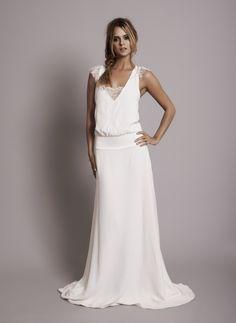 simple casual wedding dress