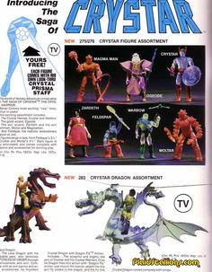 Crystar, Warbow and the Crystal dragon, I love any clear plastic toy!