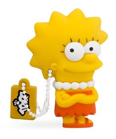 Lisa Simpson - Officially licensed USB flash drive, available in 8GB and 16GB USB 2.0 and 16GB USB 3.0