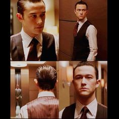 "Joseph Gordon-Levitt portrays the character of Arthur in the movie  ""Inception""......."
