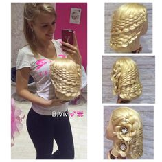 Vivi Baranyai, an exceptional 16 y.o. hairdresser from Hungary!