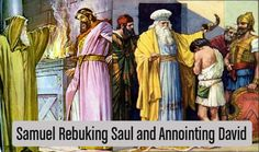 Saul+and+David.jpg  Saul of the tribe of Benjamin - first king replaced by David of Judah. David was the seventh and youngest son...