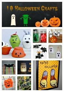 10 Halloween Crafts for Kids