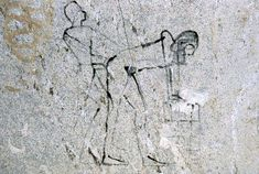 Senmut and Hatshepsut - Ancient Graffiti: Some Egyptologists have theorized that Senenmut was Hatshepsut's lover. The presence of graffiti in an unfinished tomb used as a rest house by the workers of Djeser-Djeseru depicting a male and a hermaphrodite in pharaonic regalia engaging in an explicit sexual act shows that the Egyptians of the time thought so.